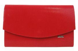 Červené společenské dámské psaníčko SP128 GROSSO