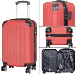 Cestovní kufr AVALON II ROT malý S MONOPOL E-batoh