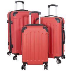 Cestovní kufr AVALON II ROT střední M MONOPOL E-batoh