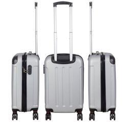 Cestovní kufr AVALON II SILBER střední M MONOPOL E-batoh