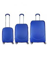 Cestovní kufr BREMEN BLUE malý S MONOPOL E-batoh