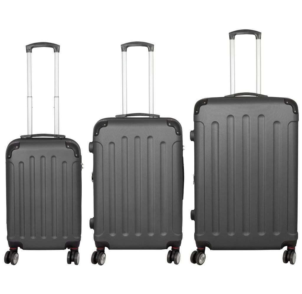 Cestovní kufr AVALON II ANTRAZIT střední M MONOPOL E-batoh
