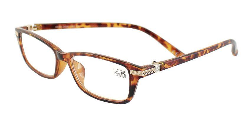 Dioptrické brýle Onelook 050/+1,50 hnědá