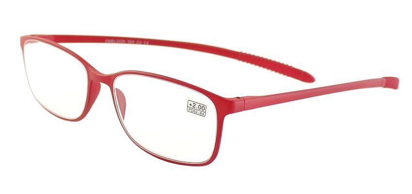 Dioptrické brýle Onelook 024/+3,00 červená