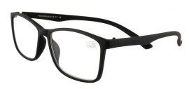 Dioptrické brýle Panorama 018/+1,25 černá
