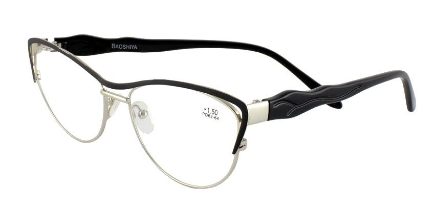 Dioptrické brýle BAOSHIYA 1149/+1,00 černá