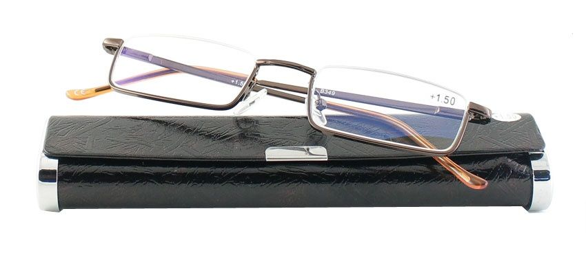 Dioptrické brýle v pouzdru B49/ +3,50 s antireflexní vrstvou