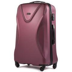 Cestovní kufr WINGS 518 ABS+TSA BURGUNDY velký L