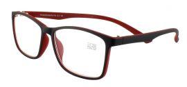 Dioptrické brýle Panorama 018/+1,75 červená