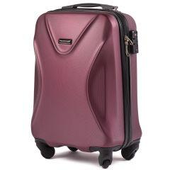 Cestovní kufr WINGS 518 ABS+TSA BURGUNDY malý S