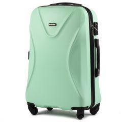 Cestovní kufr WINGS 518 ABS+TSA LIGHT GREEN  střední M