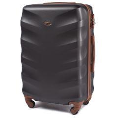 Cestovní kufr WINGS 402 ABS BLACK velký L