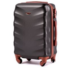 Cestovní kufr WINGS 402 ABS BLACK malý S