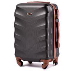 Cestovní kufr WINGS 402 ABS BLACK malý xS