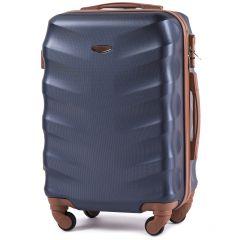 Cestovní kufr WINGS 402 ABS BLUE malý S