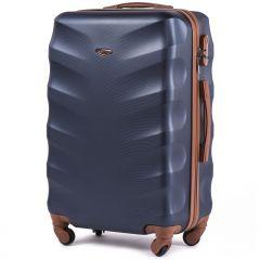 Cestovní kufr WINGS 402 ABS BLUE střední M