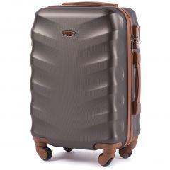 Cestovní kufr WINGS 402 ABS COFFEE malý xS