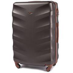 Cestovní kufr WINGS 402 ABS COFFEE velký L
