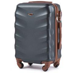 Cestovní kufr WINGS 402 ABS DARK GREEN malý S