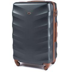 Cestovní kufr WINGS 402 ABS DARK GREEN velky L