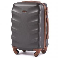 Cestovní kufr WINGS 402 ABS DARK GREY malý xS