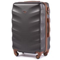 Cestovní kufr WINGS 402 ABS DARK GREY střední M