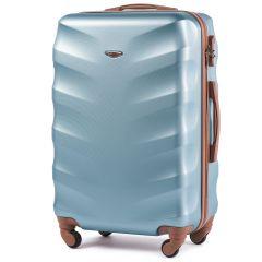 Cestovní kufr WINGS 402 ABS SILVER BLUE střední M