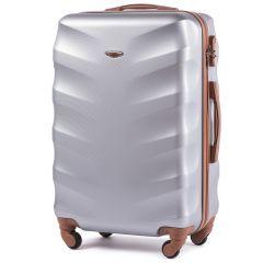 Cestovní kufr WINGS 402 ABS SILVER střední M