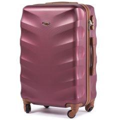Cestovní kufr WINGS 402 ABS WINE RED střední M