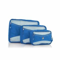 Heys Eco Packing Cube 3pc Set II Blue