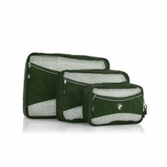 Heys Eco Packing Cube 3pc Set II Green
