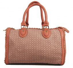 Světle růžová kabelka Orella Paris 2K1202 E-batoh