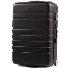 Cestovní kufr WINGS 5186 ABS 2w  BLACK velký L