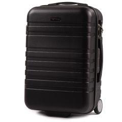 Cestovní kufr WINGS 5186 ABS 2w  BLACK malý S