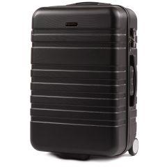 Cestovní kufr WINGS 5186 ABS 2w  BLACK střední M