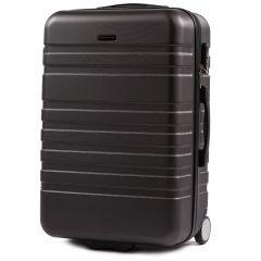 Cestovní kufr WINGS 5186 ABS 2w  DARK GREY střední M