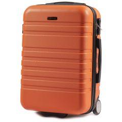 Cestovní kufr WINGS 5186 ABS 2w  ORANGE malý S