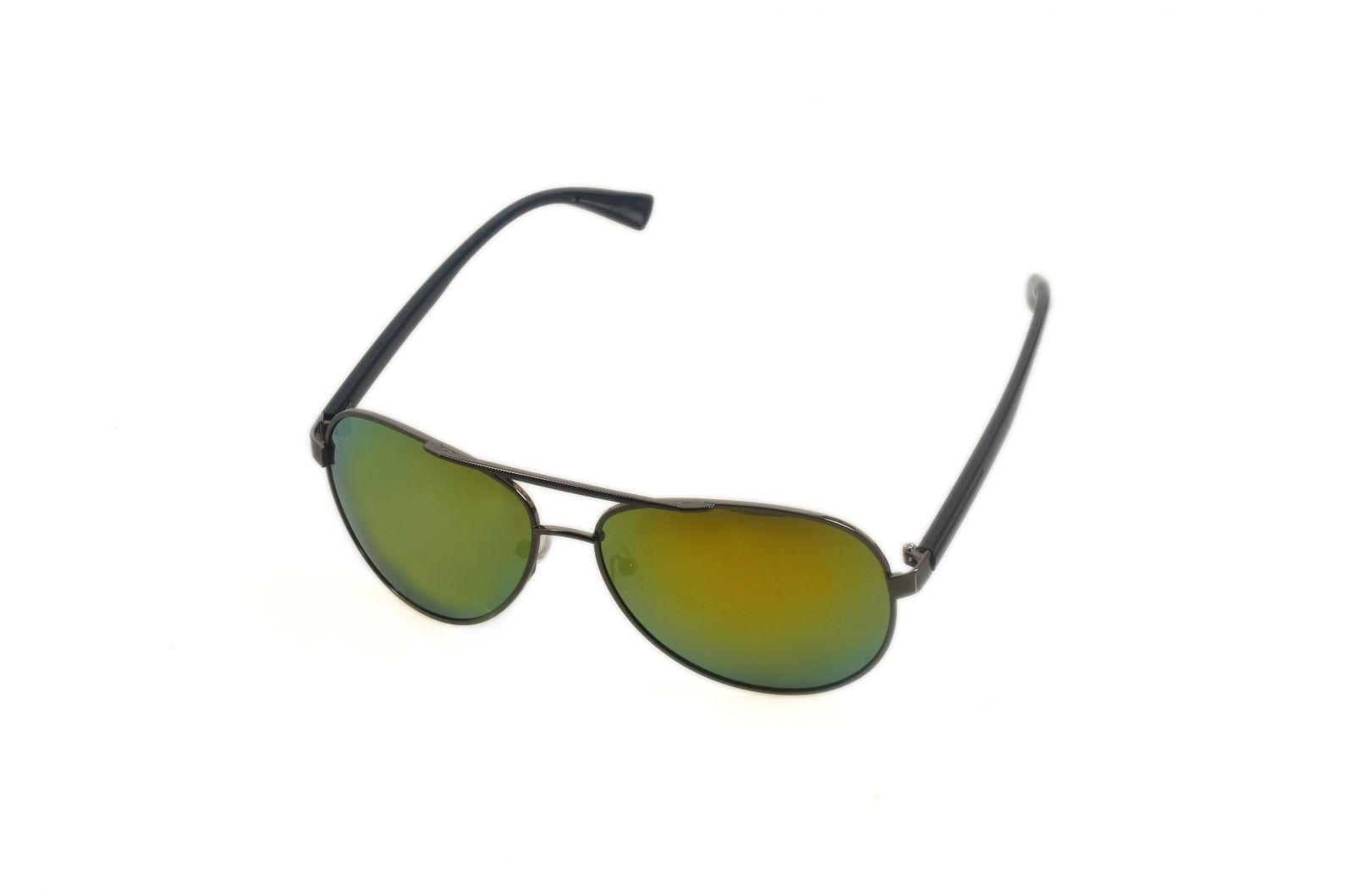 Polarizační brýle 9077 zrcadlová čočka Cat.3 žlutá E-batoh