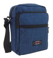Menší pánská crossbody taška C1023 modrá