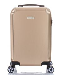 Cestovní kufr ABS T-Class 1360 CHAMPAGNE malý S