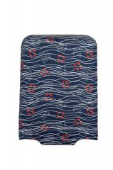 Travelite Luggage Cover L Navy