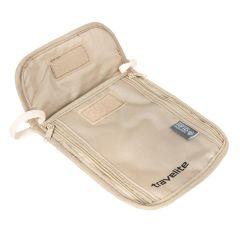 Travelite Neck pouch RFID Beige E-batoh