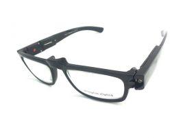 Dioptrické brýle ze světýlkamá +3,50 černé obruby