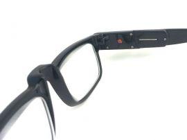 Dioptrické brýle se světýlkama +3,50 černé obruby E-batoh