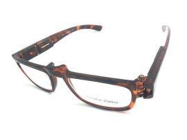 Dioptrické brýle ze světýlkamá +2,50 hnedé obruby