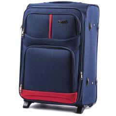 Cestovní kufr WINGS 206 BLUE velký L