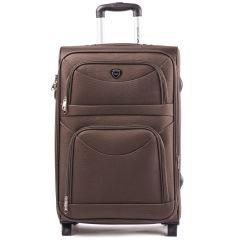 Cestovní kufr WINGS 6802 COFFEE velký L