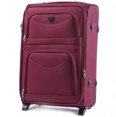 Cestovní kufr WINGS 6802 RED velký L