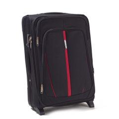 Cestovní kufr WINGS 1706 BLACK střední M