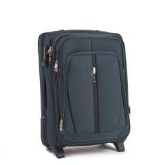 Cestovní kufr WINGS 1706 DOUBLE GREEN malý S